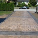 Decorative Concrete Driveway Vancouver, BC