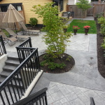 Concrete Patio In Burnaby, BC