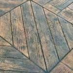 Parquet wood diagonal